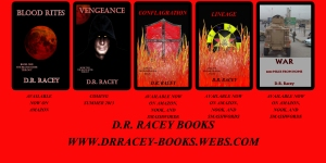 DR Racey Book Listing