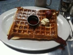 Bacon Waffle @ Hash House a Go GO